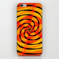 Vibrant Tigerlike Abstra… iPhone & iPod Skin