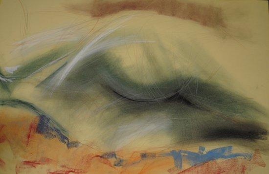 Klooster Series: Female Nude #29 Art Print