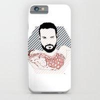 iPhone & iPod Case featuring Beard02 by YIDO
