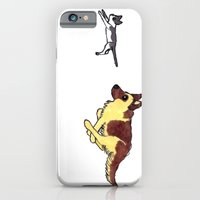 iPhone & iPod Case featuring The Chase by Lauren's Drawings