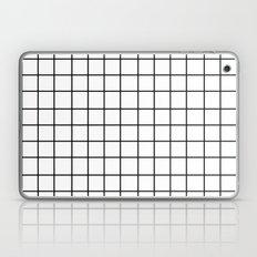 Grid (Black/White) Laptop & iPad Skin