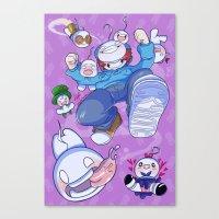 Cryaotic :: JUMP Canvas Print