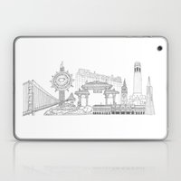 San Francisco By The Dow… Laptop & iPad Skin