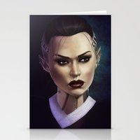 Mass Effect: Jack Stationery Cards