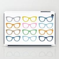 Glasses #3 iPad Case