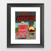 Total Alienation Framed Art Print
