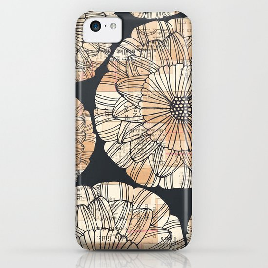 vintage botanical iPhone & iPod Case
