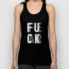 Fuck Fear Unisex Tank Top