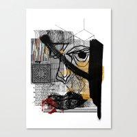 FACE #2 Canvas Print