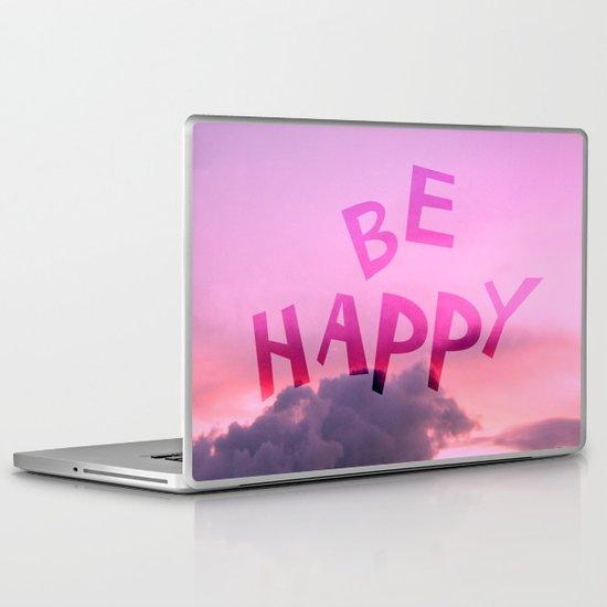 Be happy! Laptop & iPad Skin
