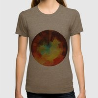 Time Womens Fitted Tee Tri-Coffee SMALL