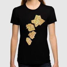 Evolving Womens Fitted Tee Black SMALL