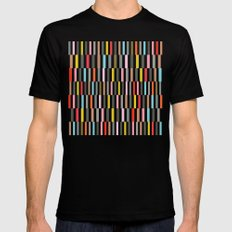 Rocolu SMALL Black Mens Fitted Tee