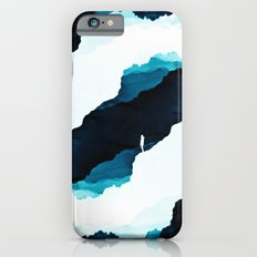 Teal Isolation iPhone 6 Slim Case