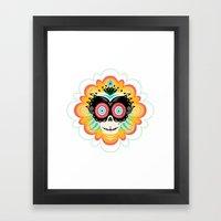 Dia De Los Muertos Calav… Framed Art Print