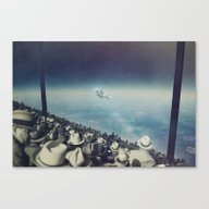 Canvas Print featuring Astronaut by MiraRuido