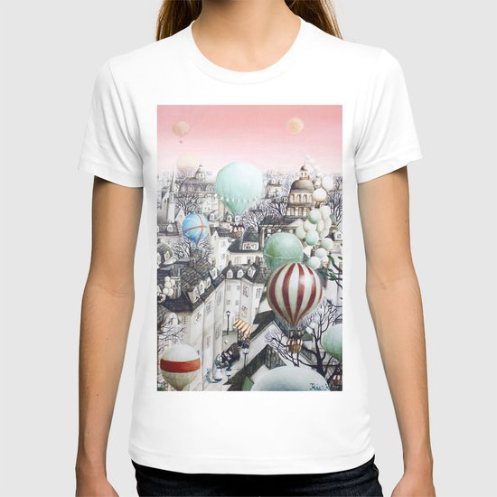 Balloon travel T-shirt