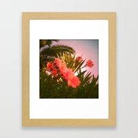 FLOWER N33 Framed Art Print