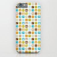 Travel Icons iPhone 6 Slim Case