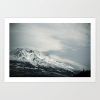 mount II (California)  Art Print