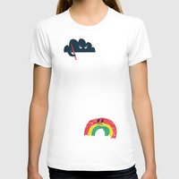 rain T-shirts featuring Rain Rain Go Away by Picomodi