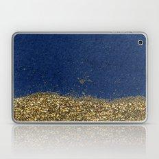 Dipped in Gold, Navy Laptop & iPad Skin