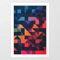 flyt nyce Art Print
