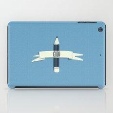 Lucky pencil iPad Case