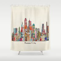 kansas city Missouri skyline Shower Curtain
