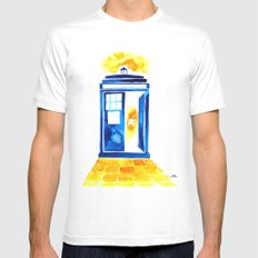 The Doctor of Oz Mens Fitted Tee SMALL White
