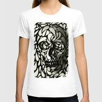 skull T-shirts featuring Skull by Ali GULEC