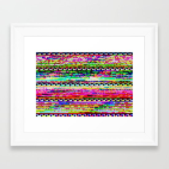 CDVIEWx4ax2bx2a Framed Art Print