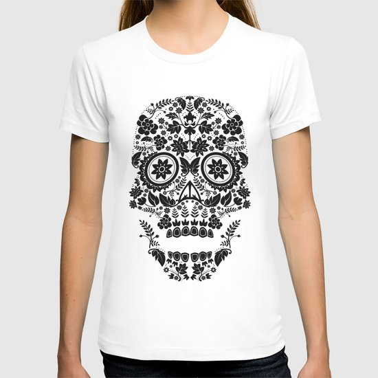 Day of the Dead Skull No.13 T-shirt