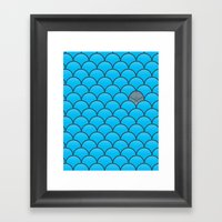 The Last Dolphin Framed Art Print