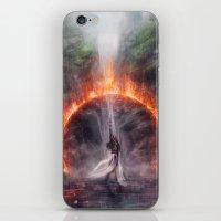 Set Fire To The Rain iPhone & iPod Skin