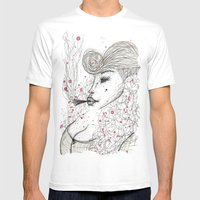 Big Mama Pink Mens Fitted Tee White SMALL