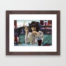 5 Dollar Milkshake Framed Art Print