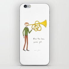 blow the horn you've got iPhone & iPod Skin