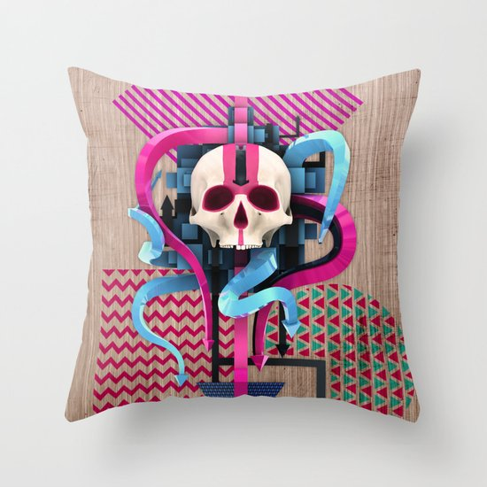 BeautifulDecay II Throw Pillow