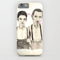 iPhone & iPod Case featuring Meet the Valentines by Meegan Barnes