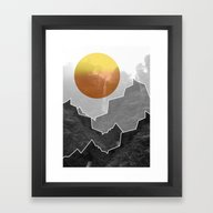 The Waterfall Framed Art Print
