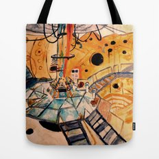 Where would you like to start? Tote Bag