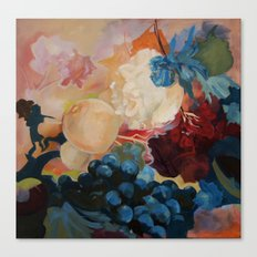 flower, fruid Canvas Print