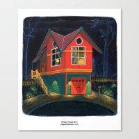 Dream House No.3 Canvas Print