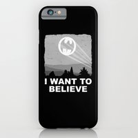 iPhone & iPod Case featuring I Want to Believe in a Hero by adho1982