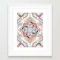 Summer Festival Pop Framed Art Print