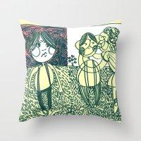 envy Throw Pillow