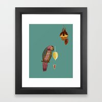 Nectar Thick Framed Art Print