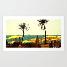 On the Mediterranean #1 Art Print