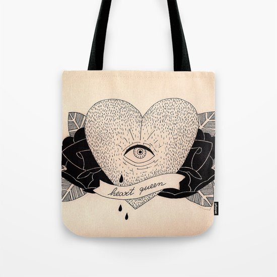 Heart Queen Tote Bag
